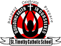 St. Timothy Sticky Logo